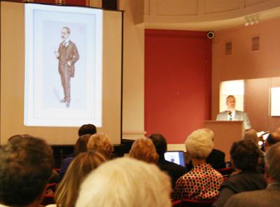 Rudyard Kipling Slides shown in the Grollier Club Gallery