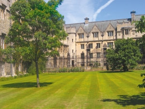 Merton College Garden