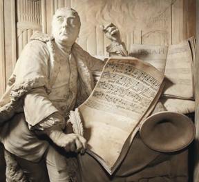 Handel-Statue