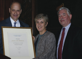 Paul LeClerc, Dame Lynne Brindley and David Redde
