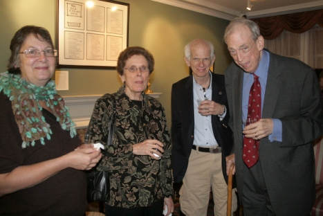 Guest, Mary Schlosser, Stephen Dimen and  Frederick Pattison