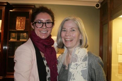 Asia Mernissi and Jeannette Redden