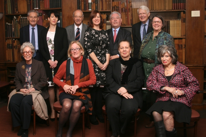 Board of Directors:  top l to r: Stamas, (Brindle BL), Sitrick, (Wells BL), Redden, Benjamin, (Anderson ATBL). front l to r:  Golden, Zuromskis, Rubinstein, Robinson.